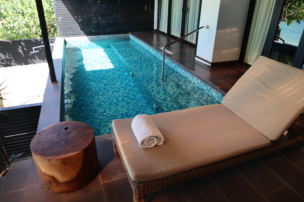 Executive suite private pool, the Andaman Langkawi