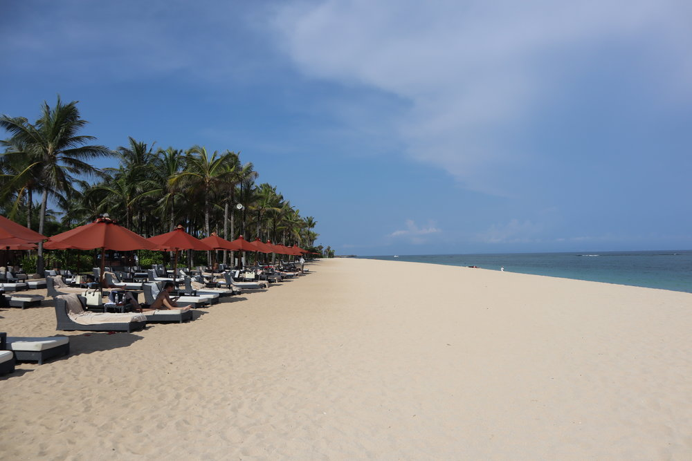 Beachside, St. Regis Bali