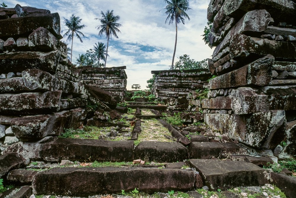The ancient ruins of Nan Madol, Pohnpei, Micronesia