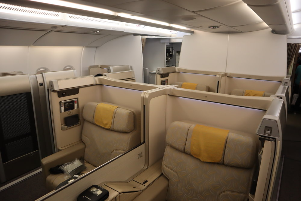 Asiana Airlines First Class – Cabin
