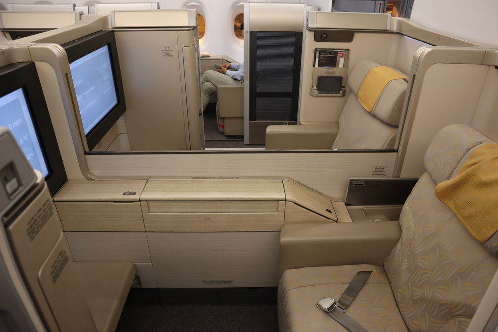 Asiana Airlines First Class – Seats 3E and 3F