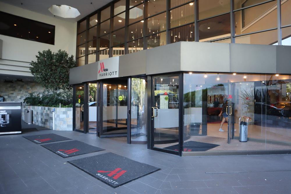 Marriott Portland Downtown Waterfront – Entrance