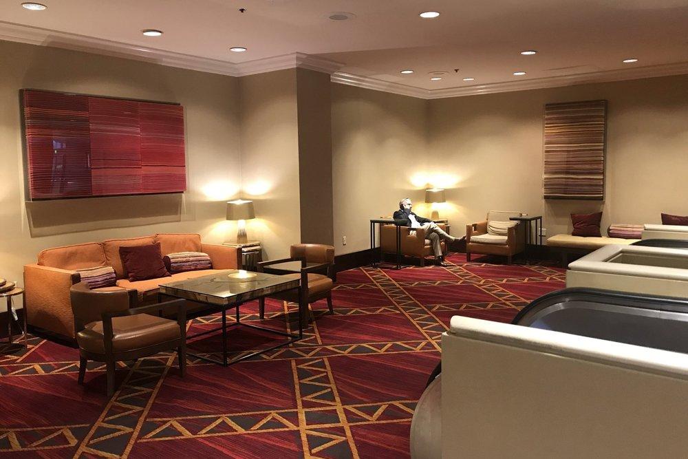 Marriott Portland Downtown Waterfront – Lobby lounge