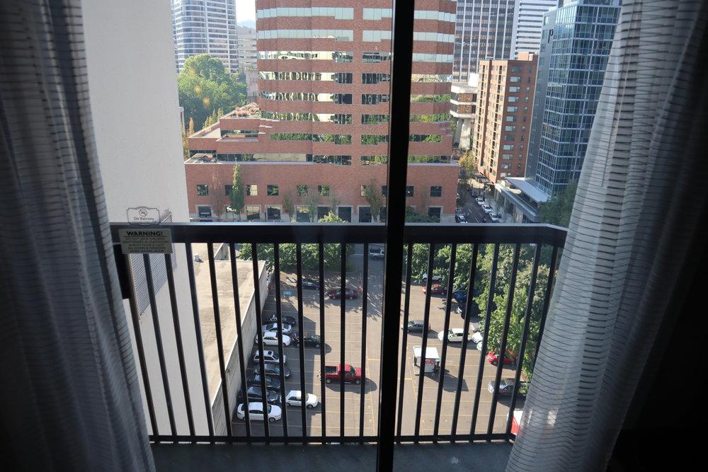 Marriott Portland Downtown Waterfront – Balcony