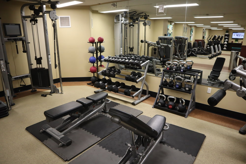Marriott Portland Downtown Waterfront – Fitness centre