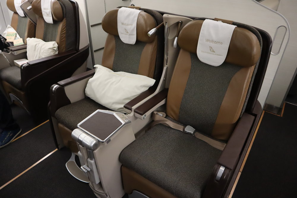 South African Airways A340 business class