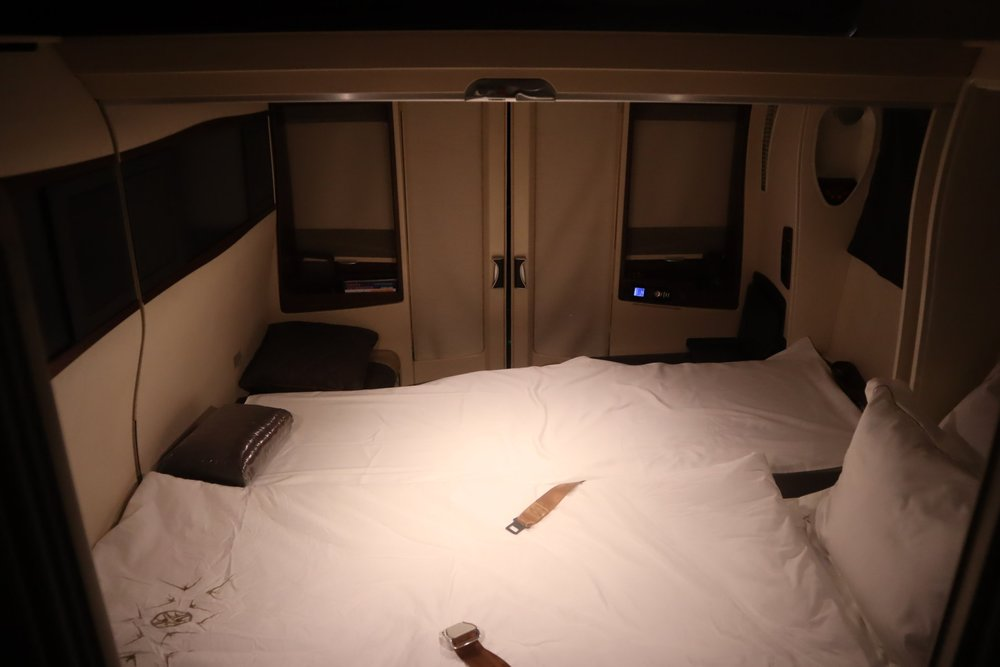 The Double Bed in the Sky