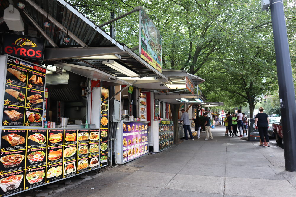 Alder Street Food Carts