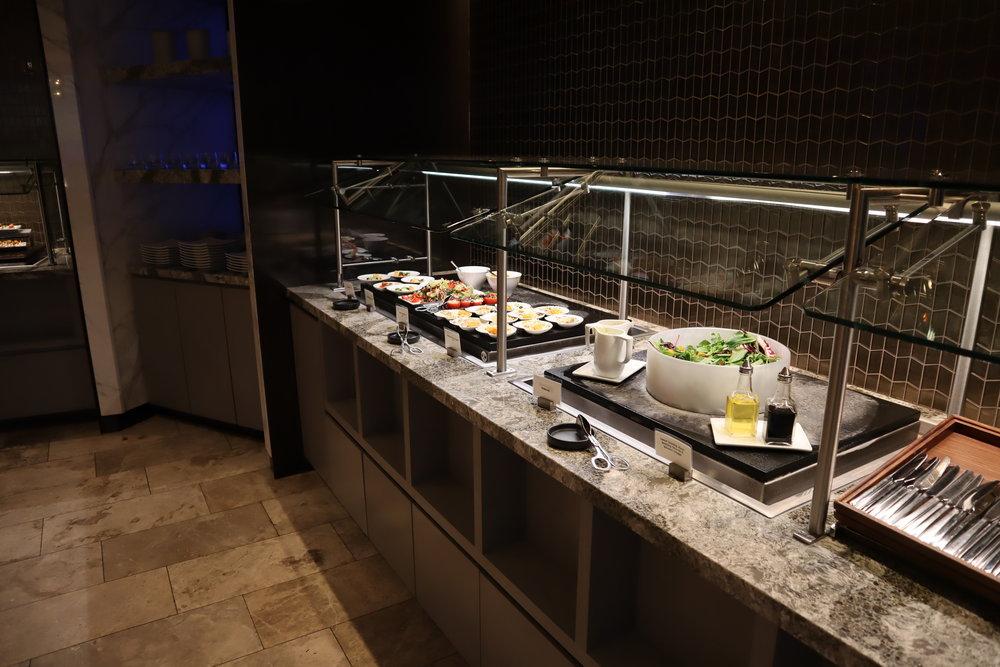 United Polaris Lounge Chicago – Buffet