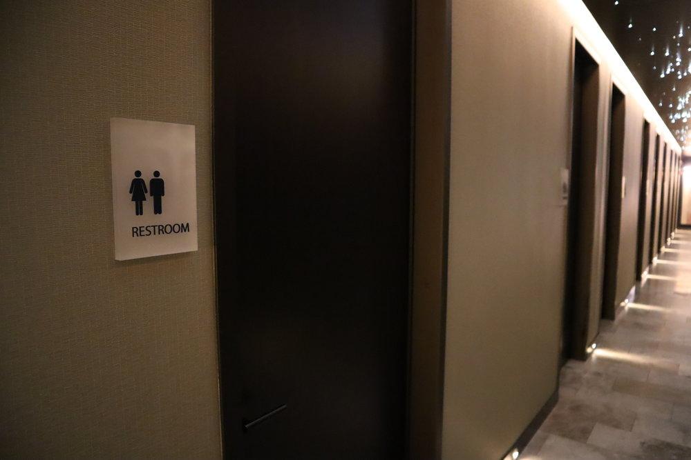 United Polaris Lounge Chicago – Restroom