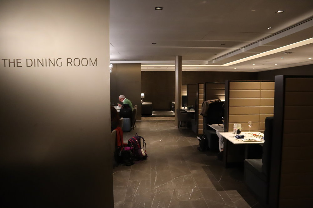 United Polaris Lounge Chicago – Dining Room