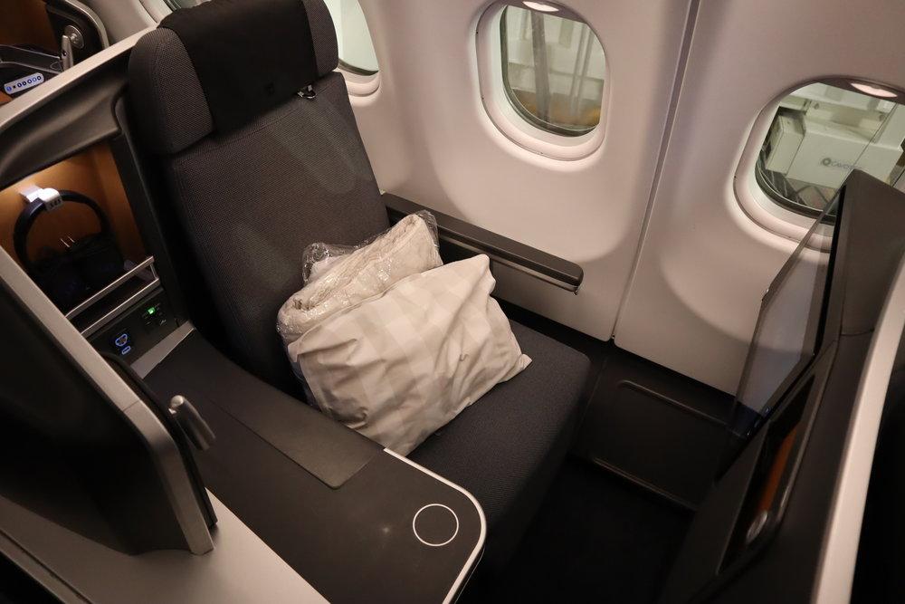 SAS business class – Seat 6A