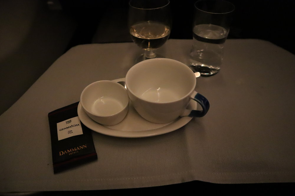 SAS business class – Genmaicha green tea by Dammann Frères