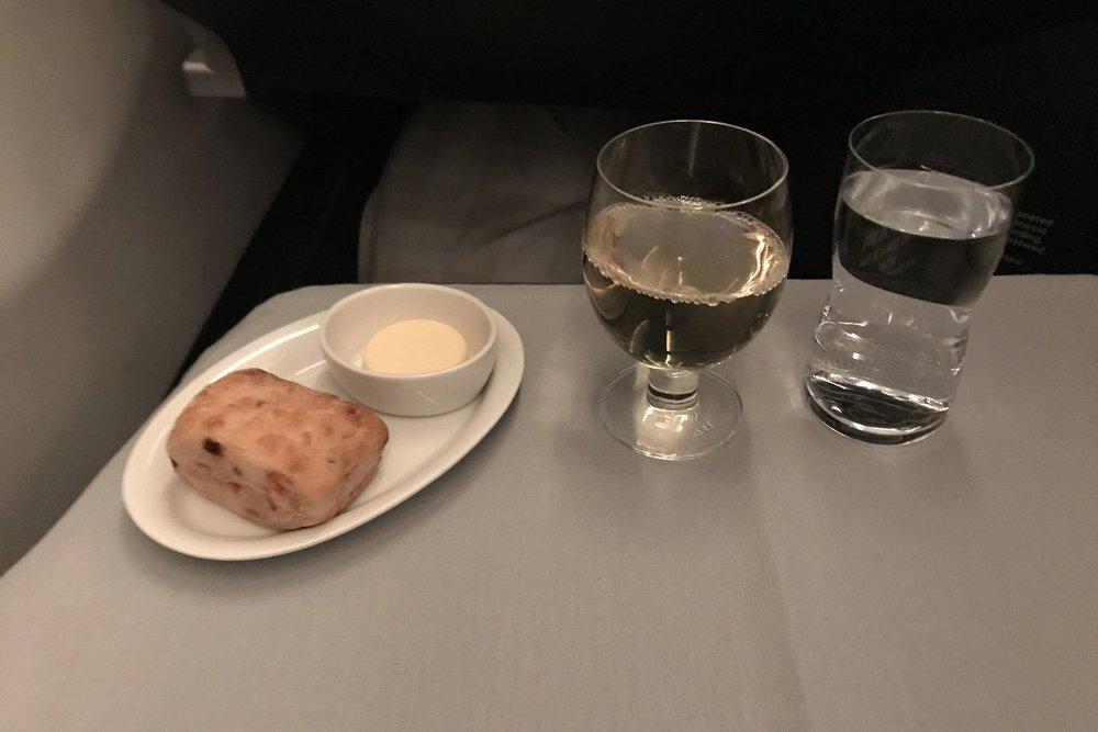 SAS business class – Chardonnay
