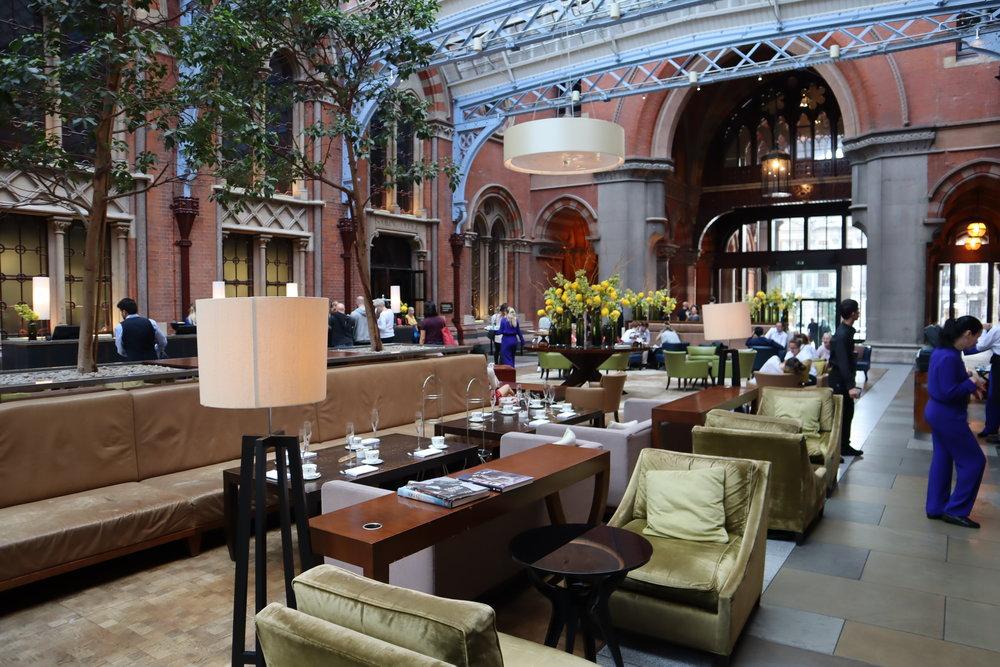 St. Pancras Renaissance Hotel London – Lobby