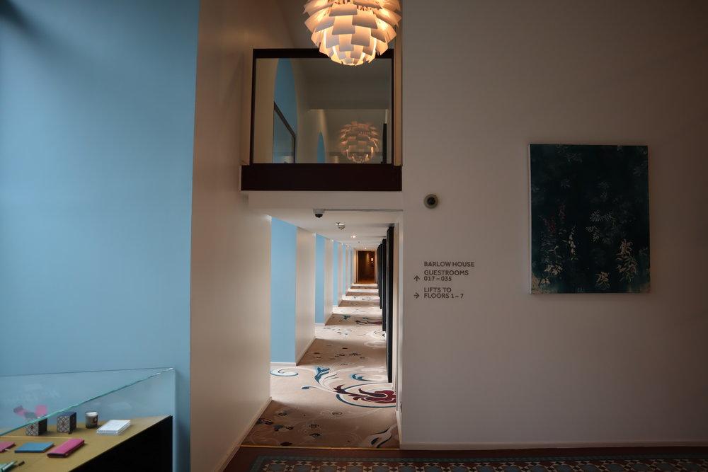 St. Pancras Renaissance Hotel London – Barlow Wing hallway