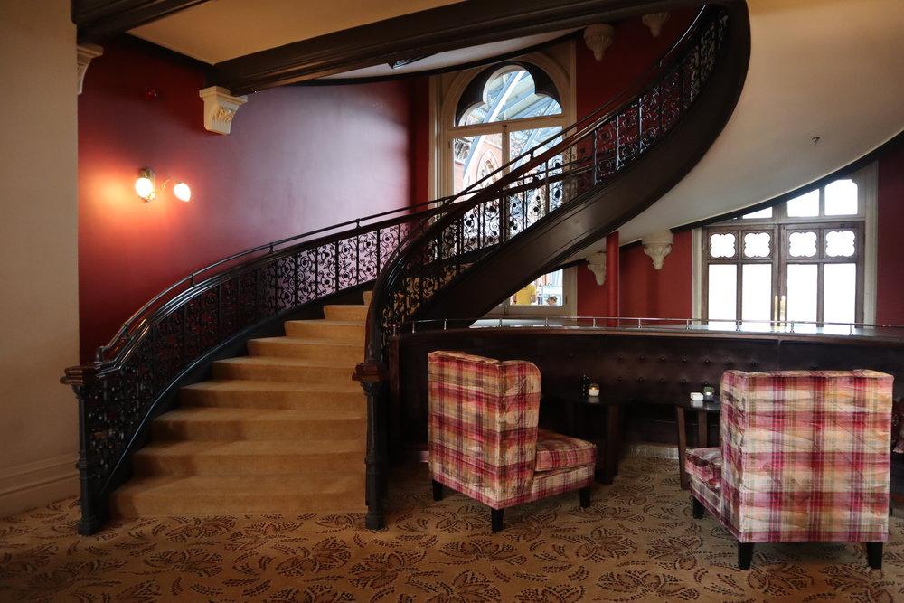 St. Pancras Renaissance Hotel London – Chambers Club staircase