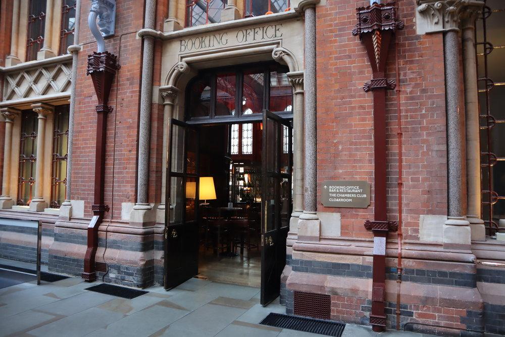 St. Pancras Renaissance Hotel London – Booking Office entrance