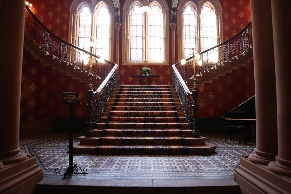 St. Pancras Renaissance Hotel London – Chambers Wing grand staircase