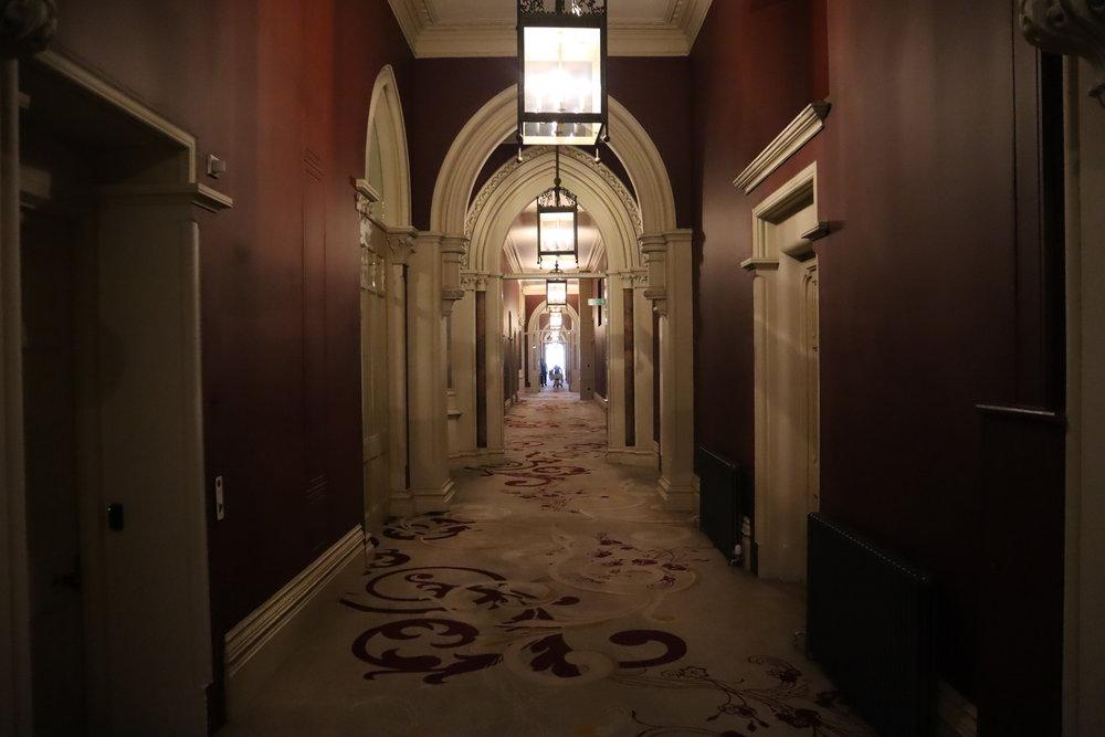 St. Pancras Renaissance Hotel London – Chambers Wing hallway