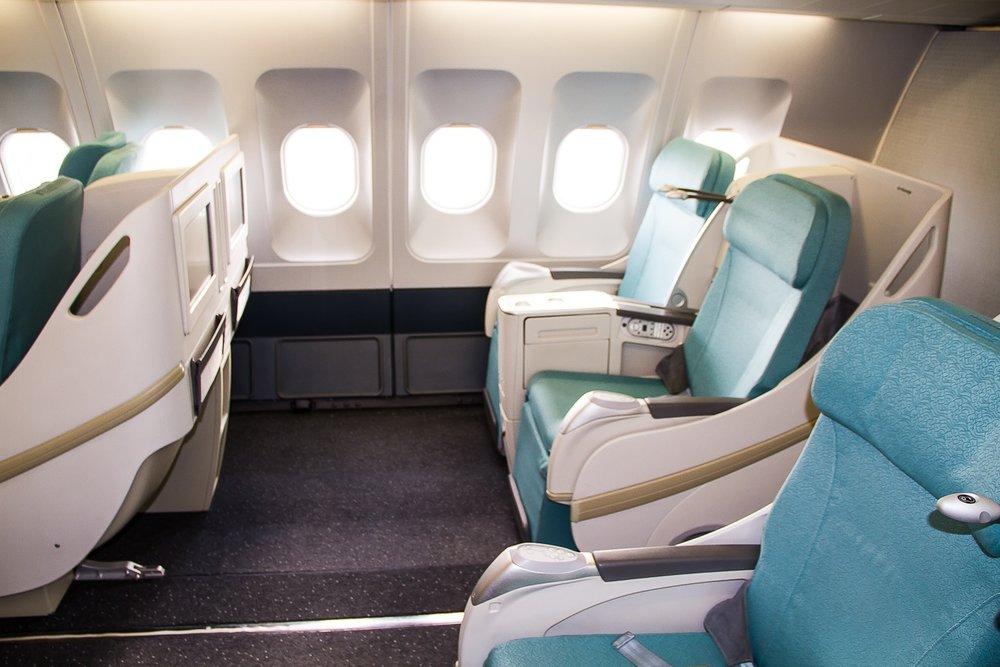 CSA Czech Airlines business class