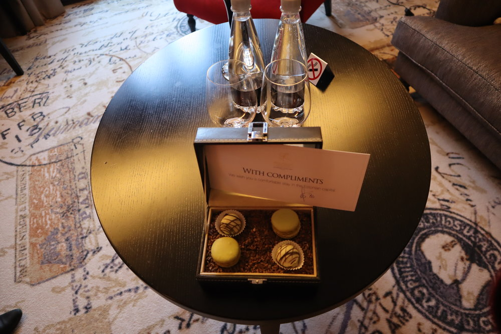 Hotel Telegraaf Tallinn – Welcome amenity