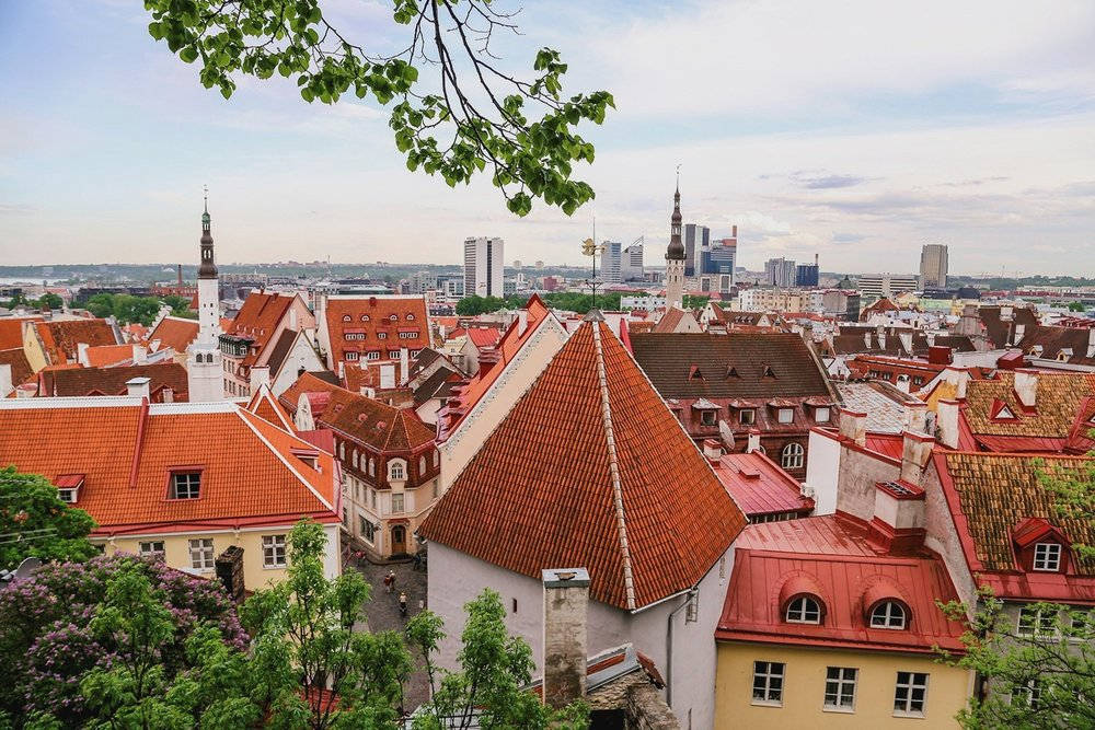 Views from Toompea Hill