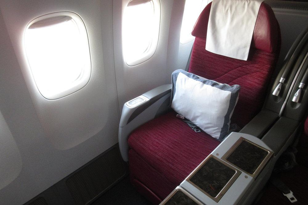 Qatar Airways from Bangkok to Hanoi