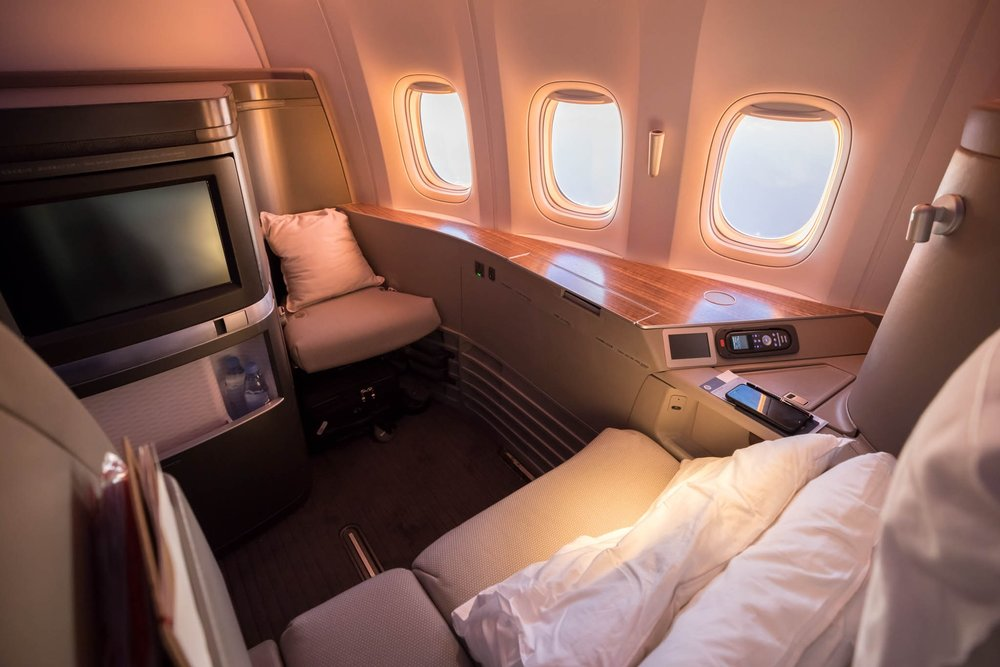 Fly Cathay Pacific First Class for just 35,000 miles!