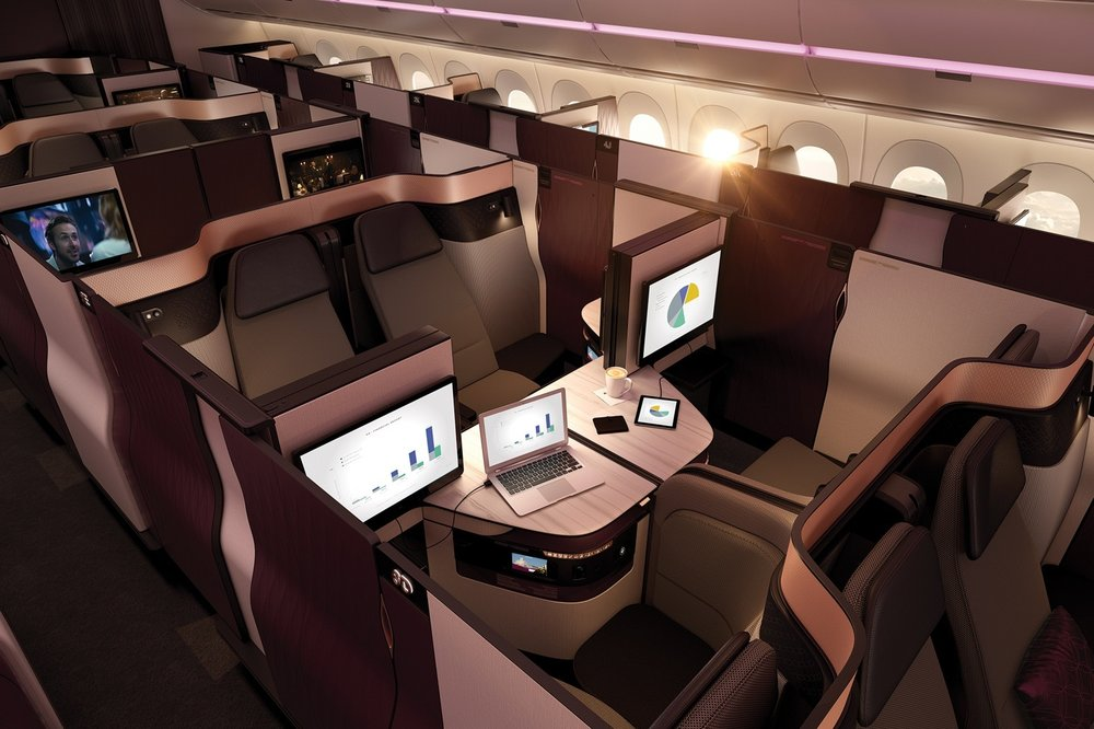 Fly Qsuites for only 15,000 Avios!