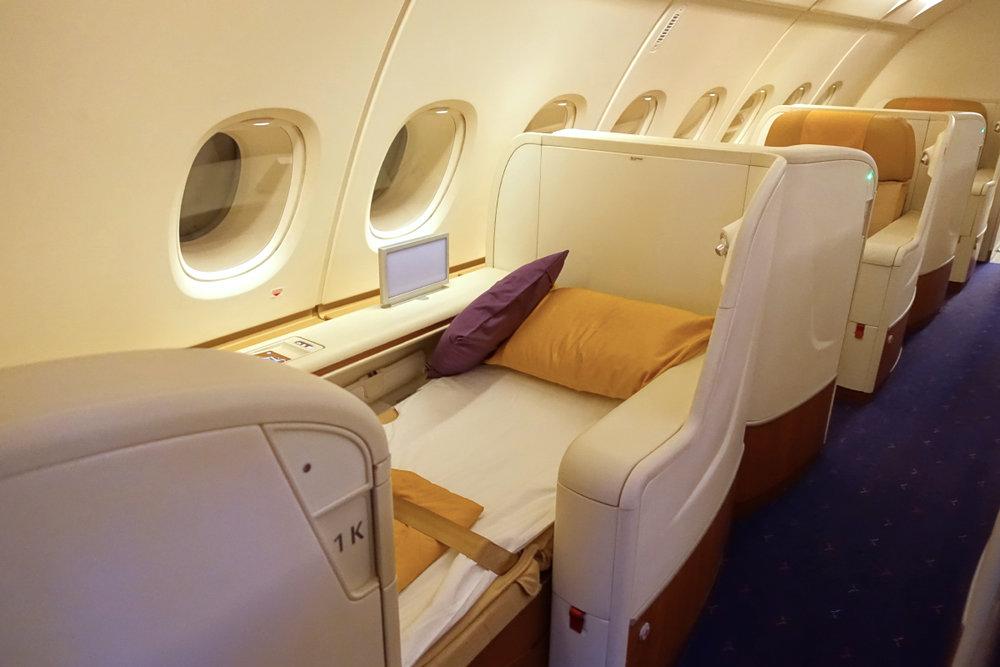 Thai Airways First Class on the Airbus A380