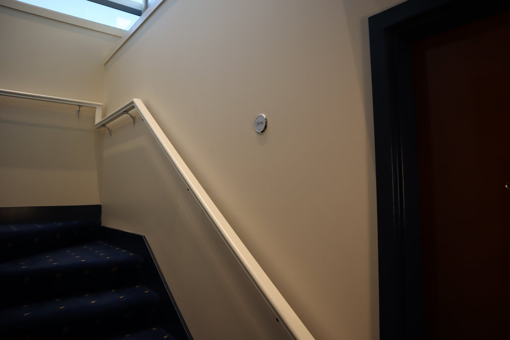 Sheraton Vancouver Wall Centre – Stairway to Room 3606