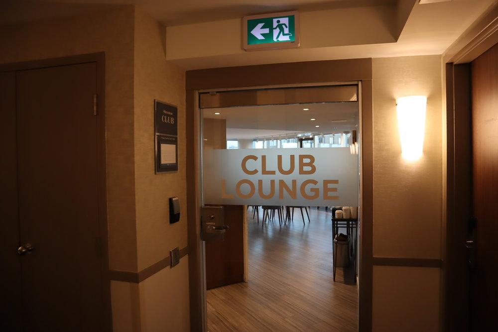 Sheraton Vancouver Wall Centre – Sheraton Club Lounge