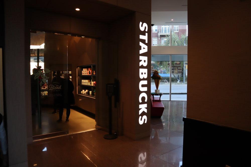 Sheraton Vancouver Wall Centre – Starbucks