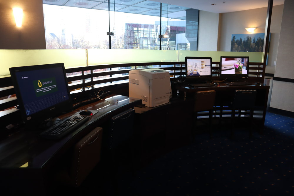 Sheraton Vancouver Wall Centre – Business centre