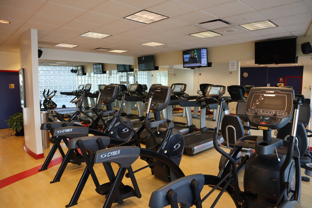 Sheraton Vancouver Wall Centre – Fitness centre