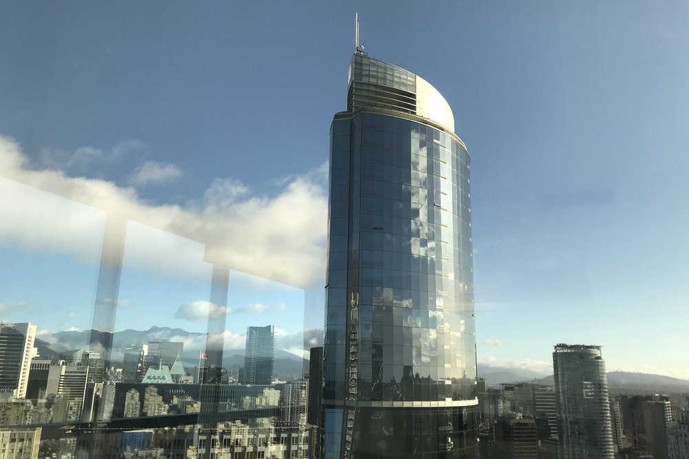 Sheraton Vancouver Wall Centre – View of the North Tower