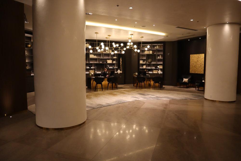JW Marriott Parq Vancouver – Lobby lounge