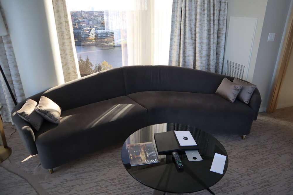 JW Marriott Parq Vancouver – Living room couch
