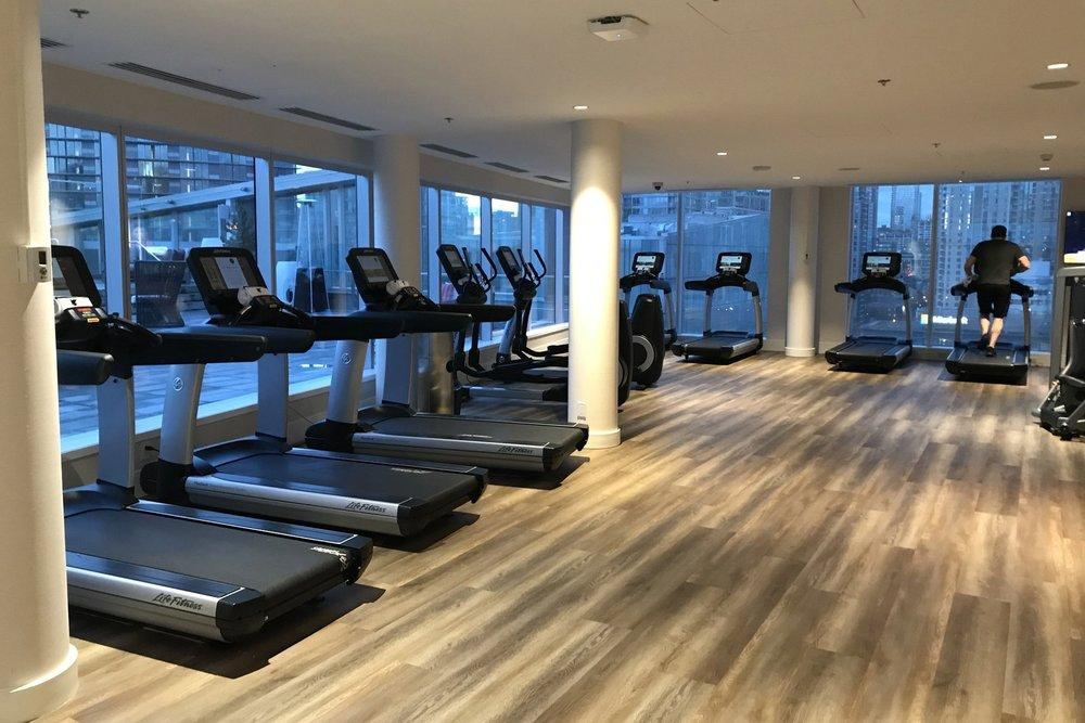 JW Marriott Parq Vancouver – Fitness centre