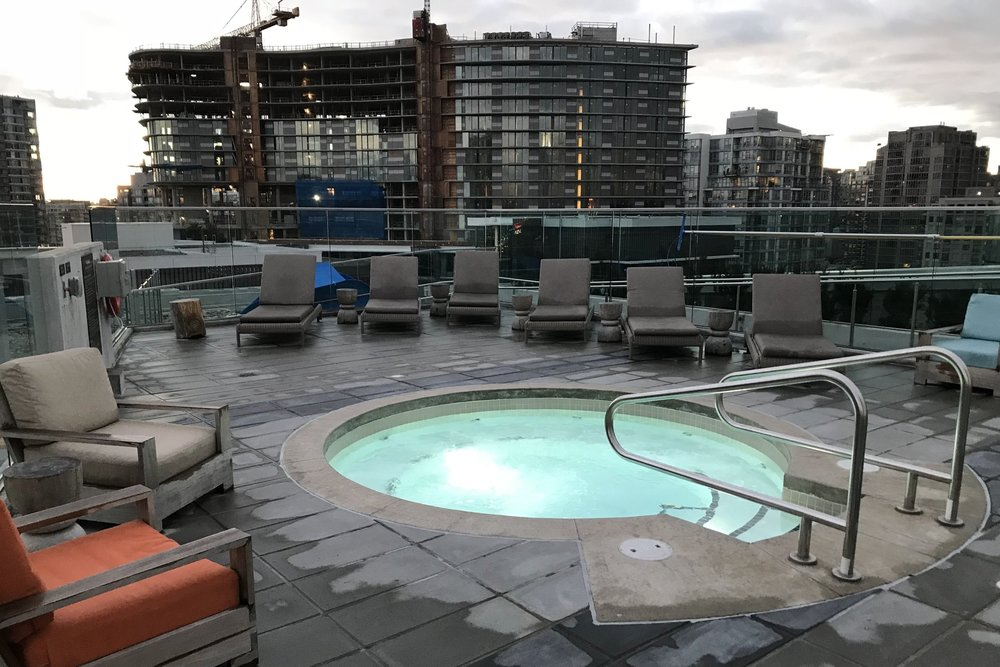 JW Marriott Parq Vancouver – Whirlpool