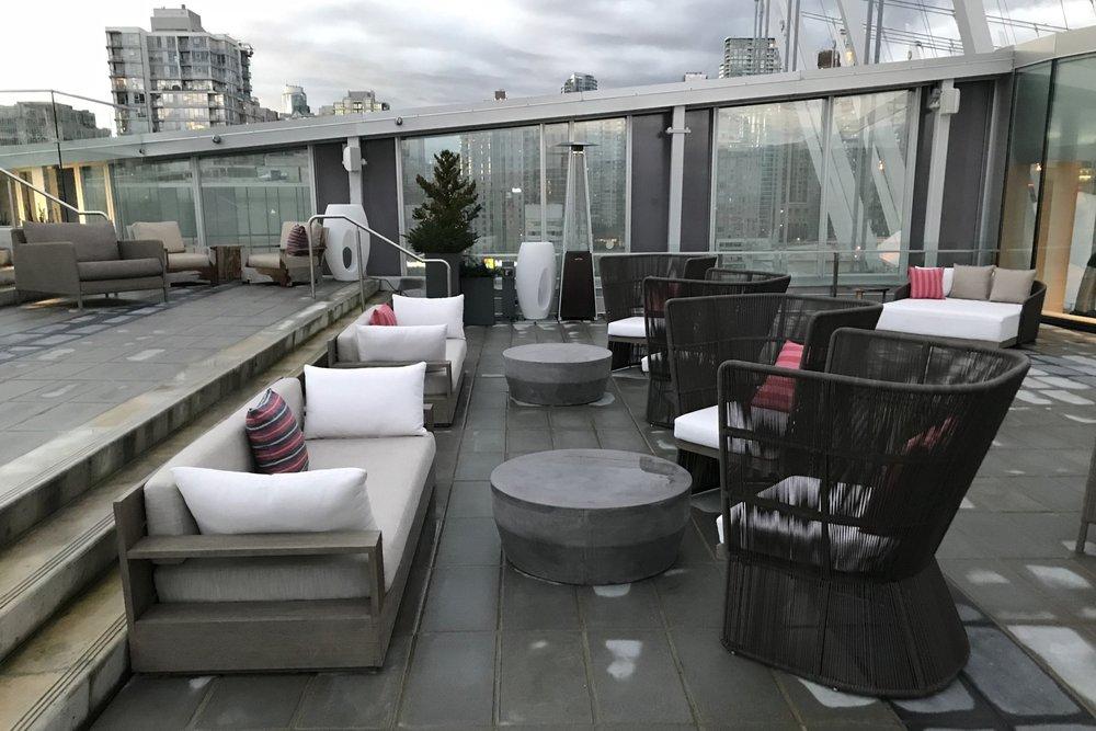 JW Marriott Parq Vancouver – Outdoor patio