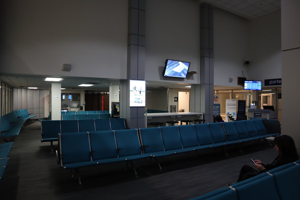 Saint John Airport – Airside waiting area