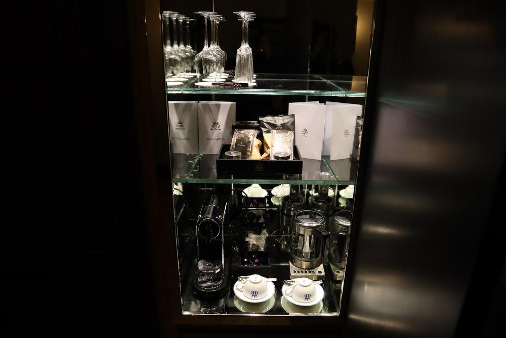 Hôtel de Berri Paris – Minibar