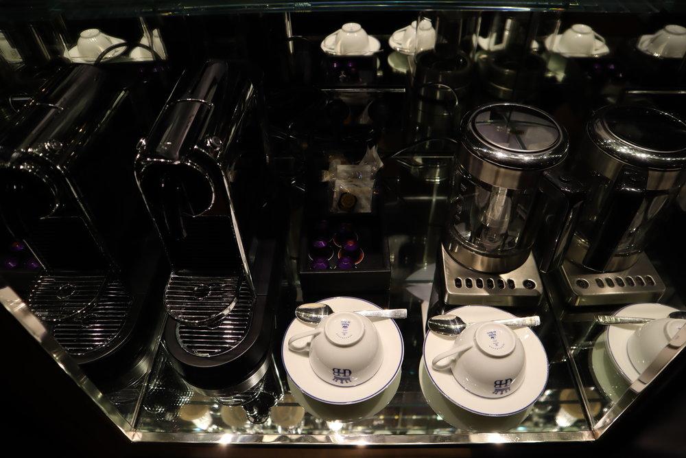 Hôtel de Berri Paris – Minibar equipment