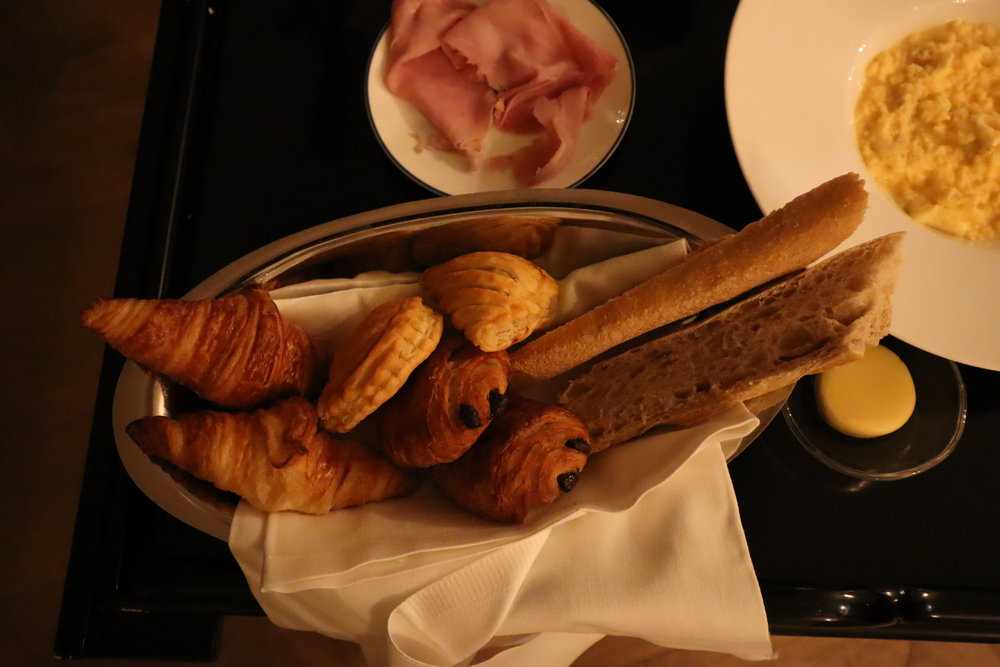 Hôtel de Berri Paris – American Breakfast pastries