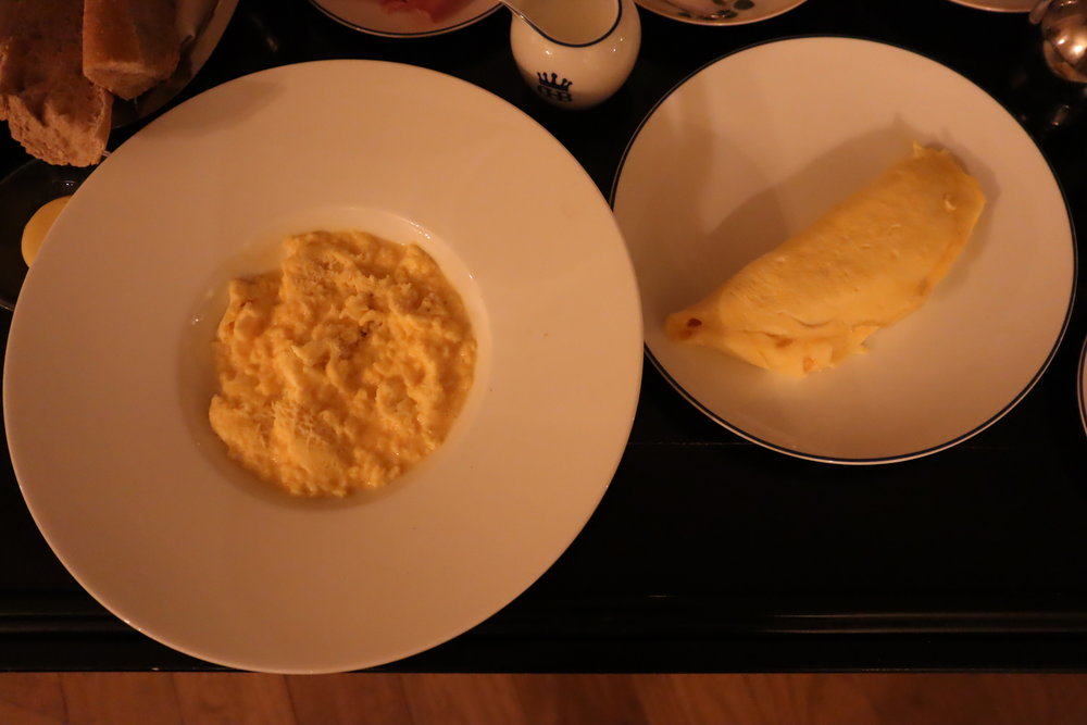 Hôtel de Berri Paris – American Breakfast eggs