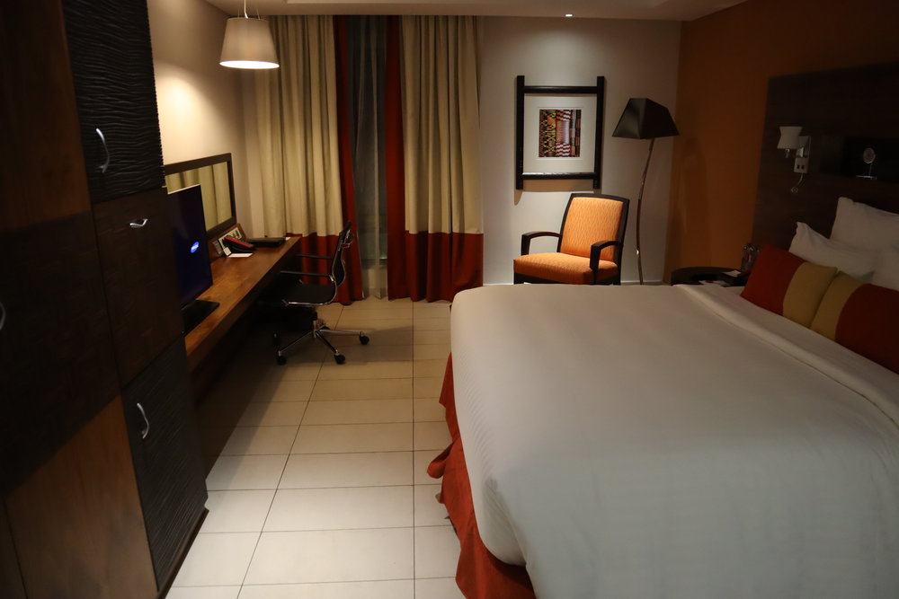 Redeem 60,000 Bonvoy points for four nights at the Marriott Accra