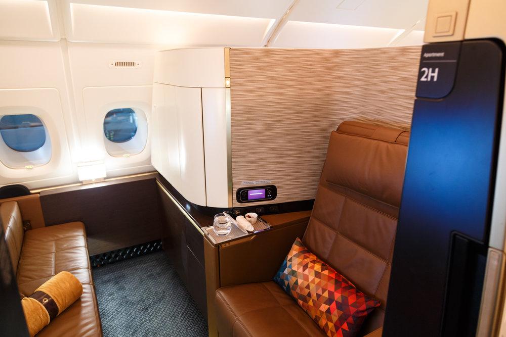 Etihad Airways A380 First Class Apartments