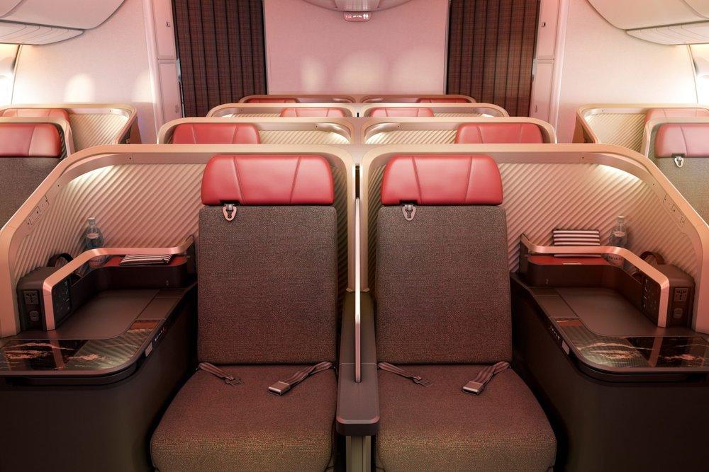 LATAM 787 new business class
